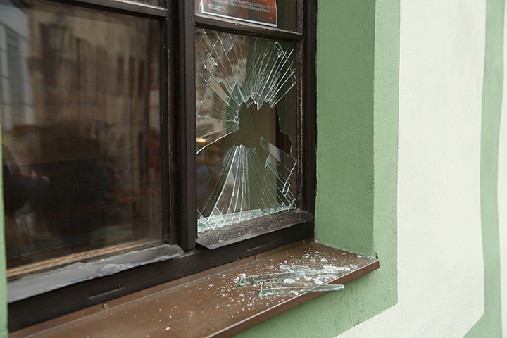A2B Glass are able to board up broken windows while they are being repaired in Furzedown.